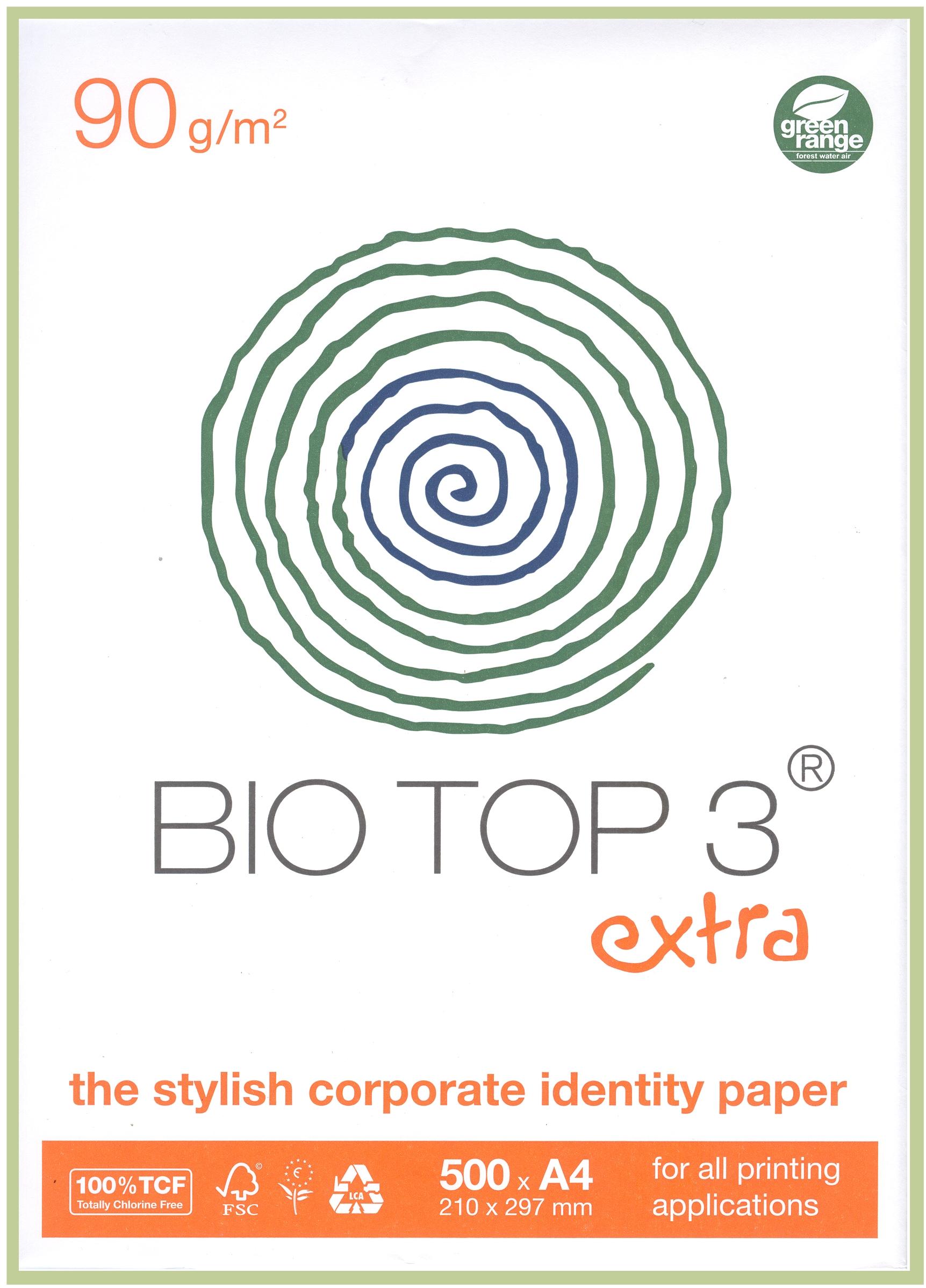 BioTop 3 extra lot de 90 g//m /² /à imprimer format 5-4000 feuilles